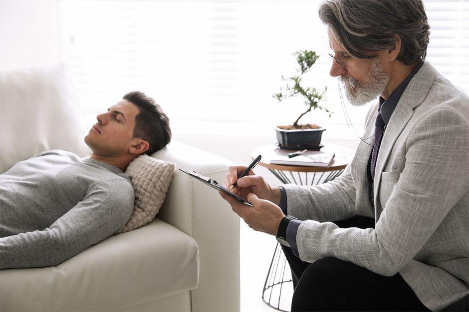 Psychotherapist and Patient